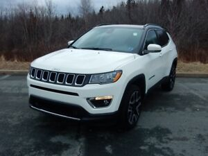 2017 Jeep COMPASS LIMITED LOADED!! LOW KM!
