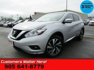 2016 Nissan Murano Platinum  AWD (NEW TIRES) ADAPTIVE CRUISE COO