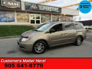 2011 Honda Odyssey EX-L w/ RES  ROOF LEATHER PWR-GATE/DOORS DVD