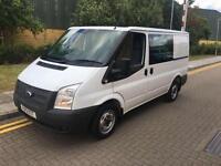 2013 Ford TRANSIT 100 T280 FWD Crew Van Manual PANEL VAN