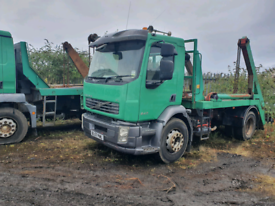 18 ton VOLVO SKIP LOADER HGV EXPORT SKIPS AVAILABLE