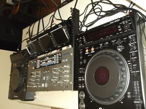 pioneer dvj 1000 mixer video monit