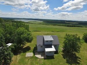 2 STOREY ON 2.99 ACRES WITH VIEWS