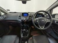 2017 FORD FIESTA TITANIUM X LEATHER HEATED SEATS REVERSING CAMERA SVC HISTORY
