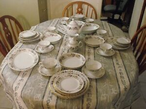 REGENCY ROSE 8 PLACE SET