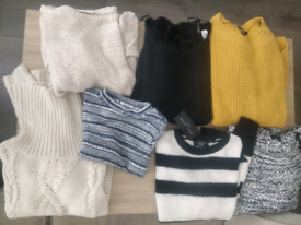 Assorted Jumpers Size 6-8