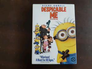18 DVDs for sale including DESPICABLE ME and CAPTAIN AMERICA