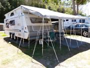 Crusader Lifestyle Series 2 2004 Pop-Top Caravan Shoal Bay Port Stephens Area Preview