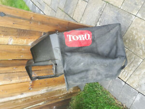Toro 21 inch  commercial  Lawnmover bag