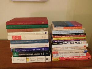 25 Math Books