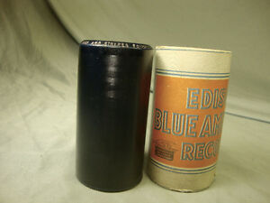 Edison Phonograph Gramophone Cylinder Record.