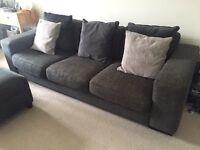 Sofa & Chairs Grey