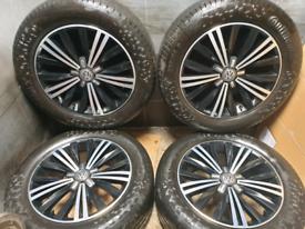 18 inch 5x112 genuine Volkswagen Tiguan alloy wheels