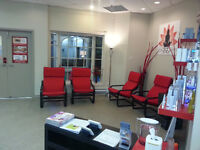 Room available for rent in a busy Spa in donwtown Burlington