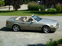 Mercedes-Benz 500SL convertible 1995