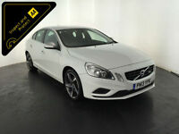 WHITE 2013 VOLVO S60 R-DESIGN D2 1 OWNER FULL VOLVO HISTORY FINANCE PX WELCOME