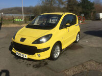 2006 Peugeot 1007 1.4HDi 70 Sport only 31000mls lovely car fsh SALE PRICE £2250