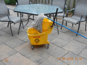 Commercial Mop Pail and mop for sale