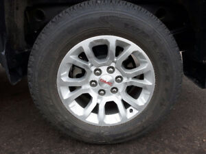 "Four 18"" Goodyear Truck (tires) like new."
