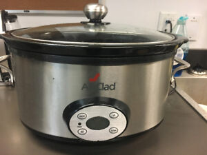 REDUCED....ALL CLAD slow cooker 7qt