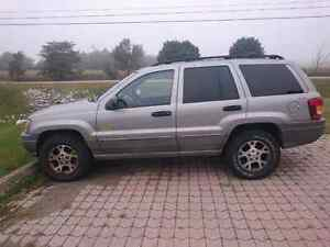 2000 Jeep Grand Cherokee - parts or project