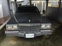 1985 Cadillac Brougham Fleetwood D'Elegance Sedan