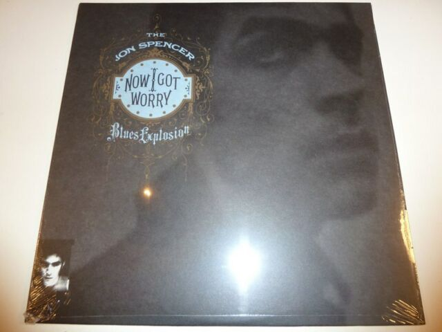 JON SPENCER BLUES EXPLOSION - Now I got worry **US-Vinyl-LP**NEW**sealed**