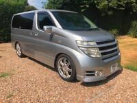 NISSAN ELGRAND 3.5 HIGHWAY STAR 8 SEATER LOW 62K FRESH IMPORT IMMACULATE PX SWAP