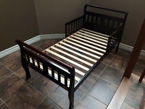 Avalon Wood Toddler Bed with Removable Side Rails