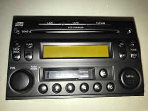 2006 Nissan OEM Car audio deck, Model#: PP-2655T