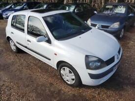 Renault Clio 1.2 16v Expression Automatic 5 Door Hatchback, Only 69k Recorded