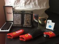 Genuine Zippo and other lighters