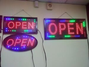 LED OPEN SIGN AT WHOLESALES PRICES