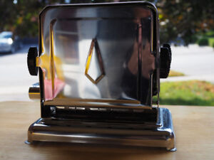 Vintage Toaster, Polished Chrome WORKING with cord