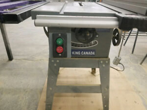 King Canada 10 inch Table Saw with Excalibur Sliding Fence