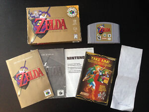 Zelda Ocarina of Time - Nintendo 64