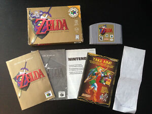 Zelda Ocarina of Time - Nintendo 64