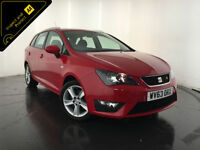 2013 63 SEAT IBIZA FR CR TDI ESTATE 1 OWNER SEAT SERVICE HISTORY FINANCE PX