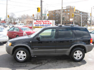 **2001 Ford Escape XLT 4x4**  Certified & E-tested