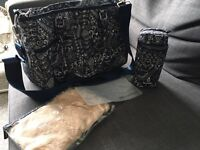 Melobaby changing bag and Nappy wallet