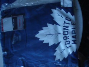 Authentic Maple Leafs & Blue Jays shirts