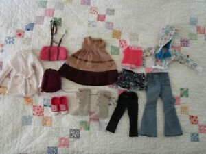 BFC Ink 18 inch Doll Clothing Lot Outfits Shoes Bags MGA