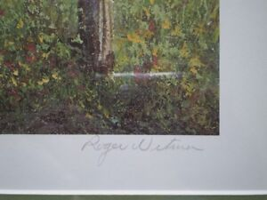 """Roger Witmer """" Little Red Wagon """" Limited Edition Print Kitchener / Waterloo Kitchener Area image 5"""