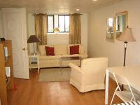 Tastefully fully furnished 1bedroom