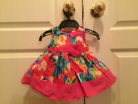 Girls dress - new with tags 0-3 months