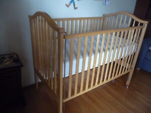 Reduced Price! Mint Condition Maple Crib