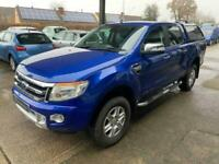 2015 Ford Ranger 2.2 LIMITED 4X4 DCB TDCI 4d 148 BHP PICK UP Diesel Manual
