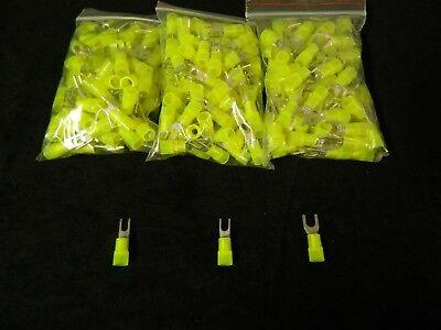 150 Pk 10-12 Gauge Nylon Spade Connectors 50 Pcs Each 6 8 10 Terminal