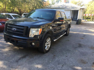 2010 FORD F150 SUPERCREW