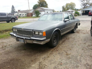 1986 Chev Caprice 4 dr.